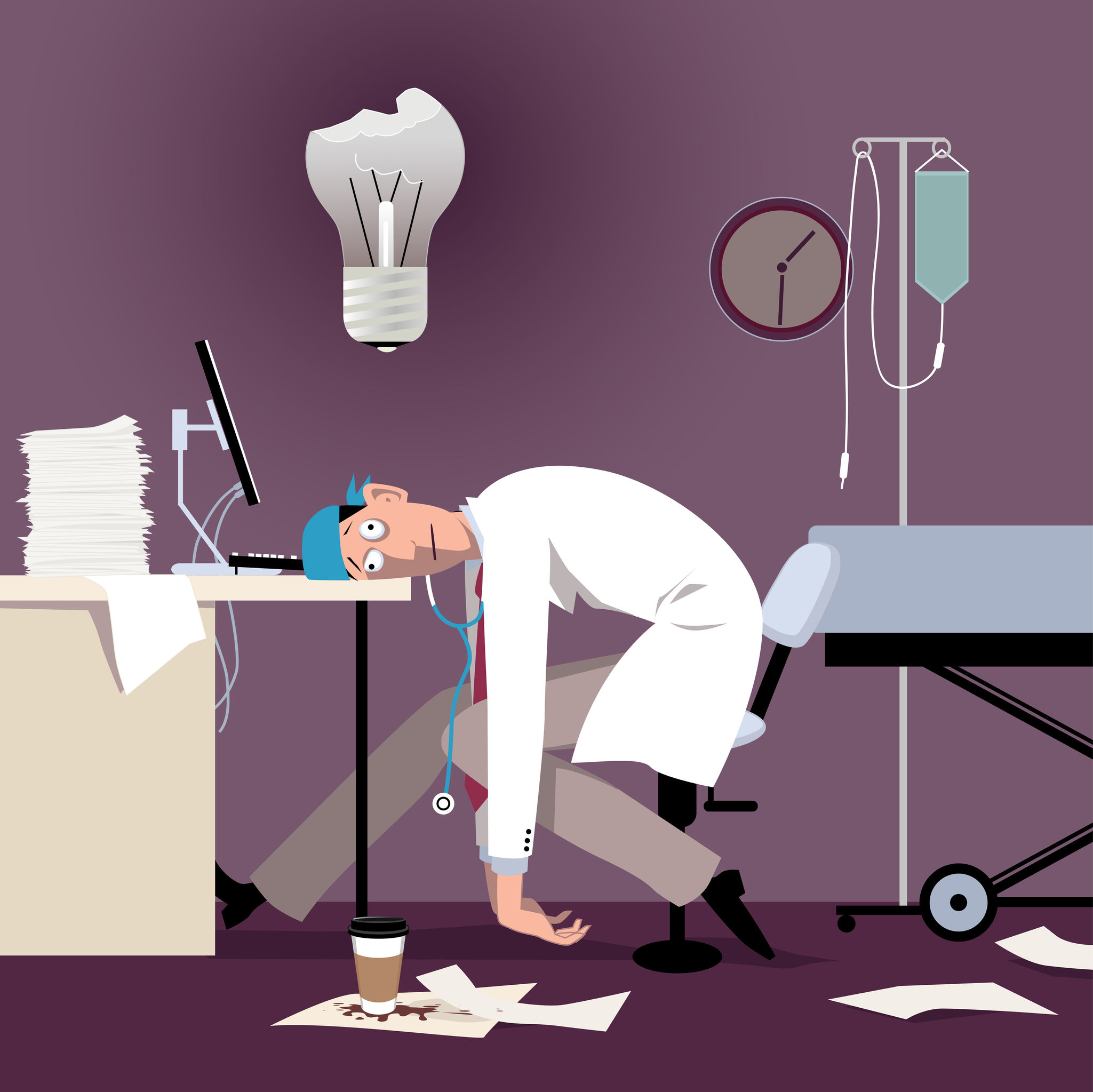 Preventing Burnout Among Radiation Oncologists