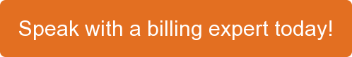 Speak with a billing expert today!